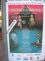 locandina Opera dei Pupi - PIPINO IL BREVE - 6 gennaio 2011  - Sciacca (2180 clic)