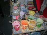 visita ad un laboratorio della ceramica - 4 dicembre 2010  - Caltagirone (1710 clic)