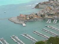 panorama della città dal Belvedere - 25 luglio 2010  - Castellammare del golfo (1252 clic)
