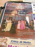 Corteo Barocco - la locandina - 16 maggio 2010  - Noto (2881 clic)