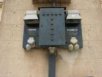 stazione ferroviaria - particolare - 2 giugno 2010  - Calatafimi segesta (2234 clic)