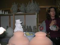 visita ad un laboratorio della ceramica - 4 dicembre 2010  - Caltagirone (1906 clic)