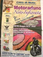 Motoraduno Noto Infiorata - la locandina - 16 maggio 2010  - Noto (4804 clic)