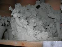 visita ad un laboratorio della ceramica - 4 dicembre 2010 CALTAGIRONE LIDIA NAVARRA
