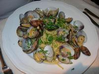 spaghetti con le vongole - La Cambusa - 25 luglio 2010  - Castellammare del golfo (2822 clic)