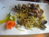 spaghetti alle vongole - La Cambusa - 17 marzo 2011  - Castellammare del golfo (1390 clic)