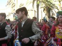111ª edizione del Carnevale di Sciacca - sfilata corteo mascherato e dei gruppi dei carri allegorici - 6 marzo 2011  - Sciacca (1405 clic)