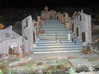 Presepe Monumentale Animato - Scala Santa Maria del Monte in miniatura - 4 dicembre 2010   - Caltagirone (1947 clic)