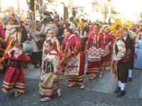 111ª edizione del Carnevale di Sciacca - sfilata corteo mascherato e dei gruppi dei carri allegorici - 6 marzo 2011  - Sciacca (1390 clic)