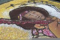 Infiorata 2010 - Bozzetti ispirati al tema: Musica dipinta: le forme e i colori della musica - L'ICONA TRA ARTE E MUSICA - Via Nicolaci - 16 maggio 2010   - Noto (2447 clic)