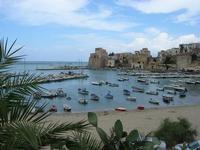 Cala Marina e Castello - 25 luglio 2010  - Castellammare del golfo (1132 clic)