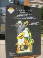 Finanza e Arte - Terza Edizione - bozzetto infiorato: Trombettieri, Fanfare e Musica nella GUARDIA DI FINANZA - la locandina - 16 maggio 2010   - Noto (2675 clic)