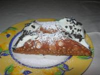 dolce: cannoli - Fattoria Manostalla Villa Chiarelli - 16 gennaio 2011  - Partinico (2943 clic)