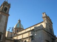 Campanile e cupola Cattedrale San Giuliano - 4 dicembre 2010 CALTAGIRONE LIDIA NAVARRA