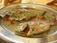 praio e sarago al forno - La Cambusa - 12 febbraio 2011  - Castellammare del golfo (1820 clic)