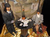 pupi siciliani e la partita a carte - 4 dicembre 2010   - Caltagirone (2237 clic)