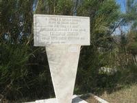 sul colle Pianto Romano - lapide commemorativa - 11 aprile 2010   - Calatafimi segesta (2264 clic)