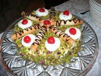 torta al pistacchio - Baglio Strafalcello - 22 giugno 2010  - Castellammare del golfo (3383 clic)