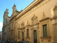 l'edificio per le Corti di Giustizia, detta Corte Capitaniale - 4 dicembre 2010 CALTAGIRONE LIDIA NA