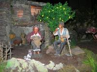 Il Presepe animato in terracotta nella Chiesa del Carmine - 4 dicembre 2010  - Caltagirone (1451 clic)
