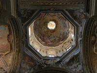 Chiesa SS. Matteo e Mattia Apostoli o Chiesa di San Matteo al Cassaro - interno: nella grande cupola