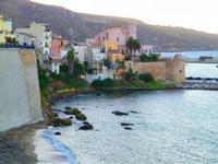 Castellammare del golfo al tramonto  - Castellammare del golfo (2584 clic)