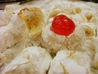 DOLCI DI MANDORLA  -mandorla zucchero miele albume-  - Castel di tusa (6551 clic)