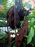 scultura di Totò Vitrano e pomelie   PALERMO Maria Calvaruso