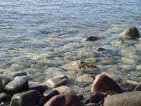 Sassi al Nero  Questi sassi sono la tana preferita delle murene. La località è detta il nero.  - Santa marina (4236 clic)