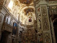Chiesa di Casa Professa Interno della Chiesa del Gesù (nota come Casa Professa) PALERMO Maria Calvar