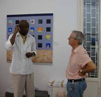 Ospite in galleria mostra di Gianni Maria Tessari allo Studio 71 di Palermo  PALERMO Maria Calvaruso