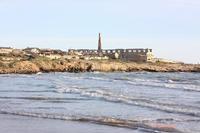 Sampieri lo stabilimento visto dalla spiaggia  - Sampieri (3513 clic)