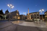 The Cathedral' square The most beautiful baroque symbol of the city of Catania  - Catania (14898 clic)
