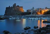 panorama notturno  - Aci castello (4905 clic)