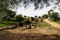Le rovine delle mura greche di Caposoprano  - Gela (8163 clic)