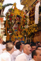 La festa del Signore dell'Olmo, compatrono di Mazzarino  - Mazzarino (6150 clic)