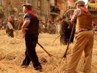 A Raddusa, piccolo centro agricolo dell'entroterra siciliano ogni anno a settembre si svolge la festa del Grano. Rivisitazione dell'antica pisatura la spagliatura per separare i preziosi chicchi di grano dalla paglia delle spighe.   - Raddusa (8095 clic)