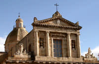 Cupola e navata superiore della Matrice di Gela  - Gela (3490 clic)