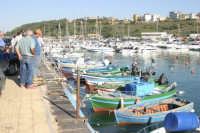 Il porticciolo, l'arrivo dei pescatori  - Gela (4528 clic)