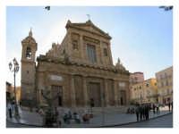 La chiesa Madre, la facciata prospetto Ovest  - Gela (9232 clic)