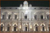 Particolare architettonico, la facciata del Palazzo di Città  - Caltagirone (1776 clic)
