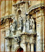 Particolare chiesa di San Sebastiano  - Ferla (1443 clic)