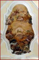 Particolare dell'affresco al soffito della cattedrale  - Noto (3503 clic)
