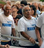 La festa della patrona di Gela, Maria SS dell'Alemanna - 8 settembre. I portatori della Vara  - Gela (5425 clic)