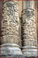 Particolare della Chiesa di San Sebastiano  - Palazzolo acreide (1720 clic)
