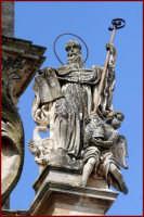 particolare di un monumento cittadino  - Ragusa (2278 clic)