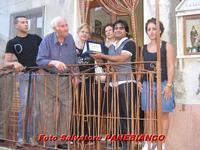 Premiazione anziano suonatore di  Corno   - Malvagna (3802 clic)
