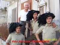 Nonno Ignazio e nipoti  - Malvagna (3634 clic)