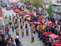 Raduno Ferrari in Piazza Roma  - Malvagna (4995 clic)