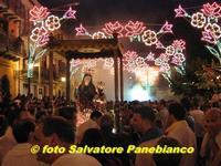La processione di S. Anna in piazza Roma  - Malvagna (4411 clic)